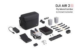 DJI Air 2S Fly More Combo dronas su išmaniuoju valdymo pultu (Smart Controller)