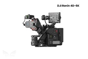 DJI Ronin 4D-8K kino kamera su stabilizatoriumi
