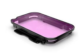 GoPro rausvas filtras / Magenta Dive Filter for Dual HERO System