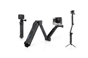 GoPro universali išlankstoma lazda su trikojuku / 3-Way