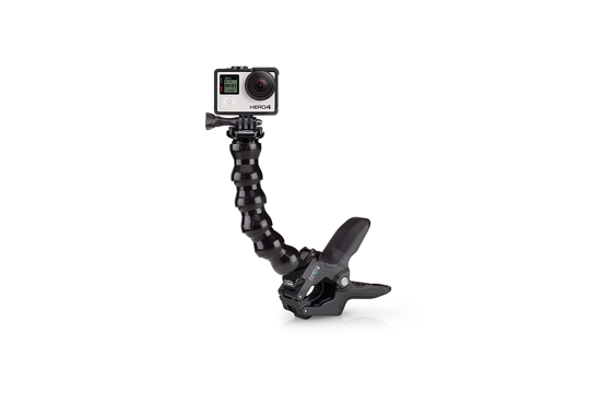GoPro gnybtai su lanksčia alkūne/ Jaws: Flex Clamp
