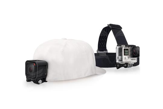 GoPro galvos diržai / Head Strap + QuickClip