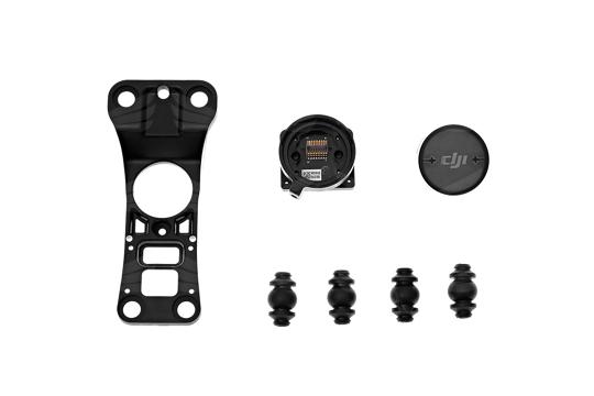 DJI Inspire 1 kameros tvirtinimo plokštelė / Gimbal Mount & Mounting Plate / Part 41