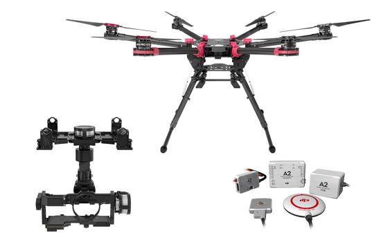 DJI S900 & A2 & Z15 GH4