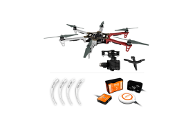DJI Naza-M v2.0 +GPS+F550 ARF Kit+Landing Skid+Mounting Adapter for F550 Part50 + H3-3D (standard)