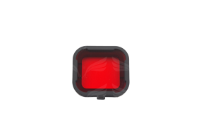 PolarPro raudonas filtras GoPro / Red Filter for Standart Housing