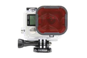 PolarPro HERO4 paviršinio nardymo filtras kevalui / Snorkel Filter