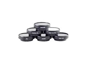 PolarPro filtrai v2.0 GoPro Frame (PL, ND8, ND16, ND32, ND8/PL, ND16/PL) 6-Pack