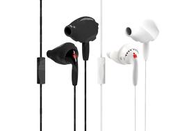 Yurbuds Inspire + Mic White / ausinės su mikrofonu
