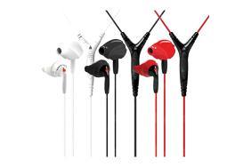 Yurbuds Inspire Pro Black/Red / ausinės su mikrofonu