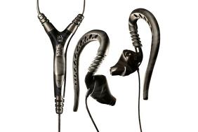 Yurbuds Focus Pro Black / ausinės su lankeliu ir mikrofonu
