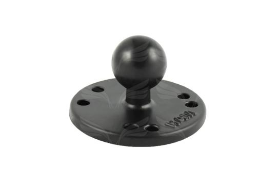 RAM Round Plate with Ball / B Size / RAM-B-202U