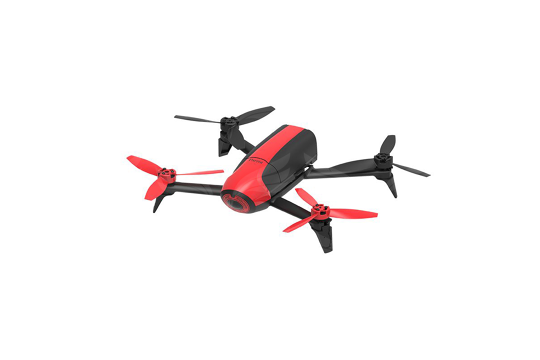 Bebop 2 raudonas orlaivis / Bebop 2 Red Drone