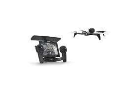 Bebop 2 baltas orlaivis su pultu / Bebop 2 White drone with Skycontroller