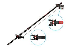 Joby gervė / Action Jib Kit & Pole Black/Red