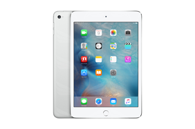 Apple iPad mini 4 - Sidabriė