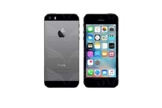 Apple iPhone 5S - Kosminė pilka