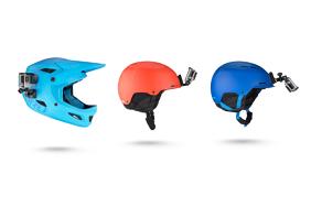 GoPro Šalmo Priekinis IR Šonininis laikiklis / Helmet Front and Side Mount