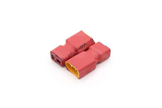 Iš XT60 į T-jungtį adapteris baterijoms