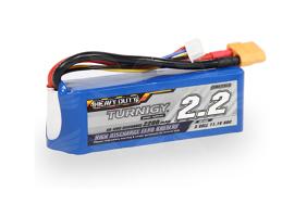 Turnigy 2200mAh 3S 20C Lipo Pack akumuliatorius