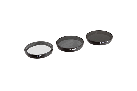 PolarPro Inspire 1 filtrai 3-Pack-UV, CP, ND8 / Filters