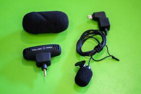 Nudoti PolarPro mikrofonai 2x / ProMic Kit Microphones & Adaptor