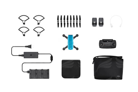 DJI Spark Sky Blue - Fly More Combo