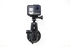 RAM Komplektas skirtas GoPro kameroms (vienas vakuminis laikiklis)