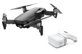 DJI Mavic Air Fly More Combo dronas Onikso Juodumo spalvos / Onyx Black + GJI Goggles