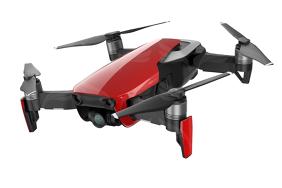 DJI Mavic Air dronas Liepsnos Raudonumo spalvos / Flame Red