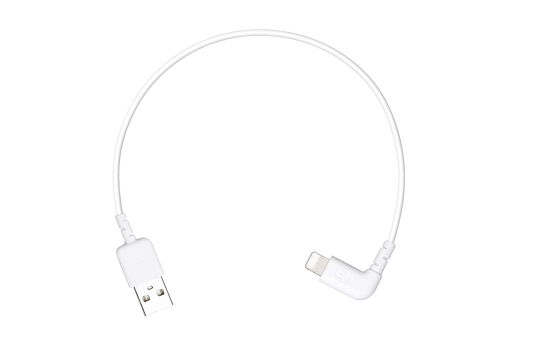 DJI Inspire 2 Part 23 C1 Remote Controller LIGHTNING TO USB CABLE(260mm)(P3A,P3P ,P4 ,P4P ,Inspire Series)