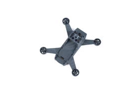 DJI Spark Vidurinė korpuso dalis su laidais / Middle Frame Semi-finished Product Module (Excluding ESC and Motor)