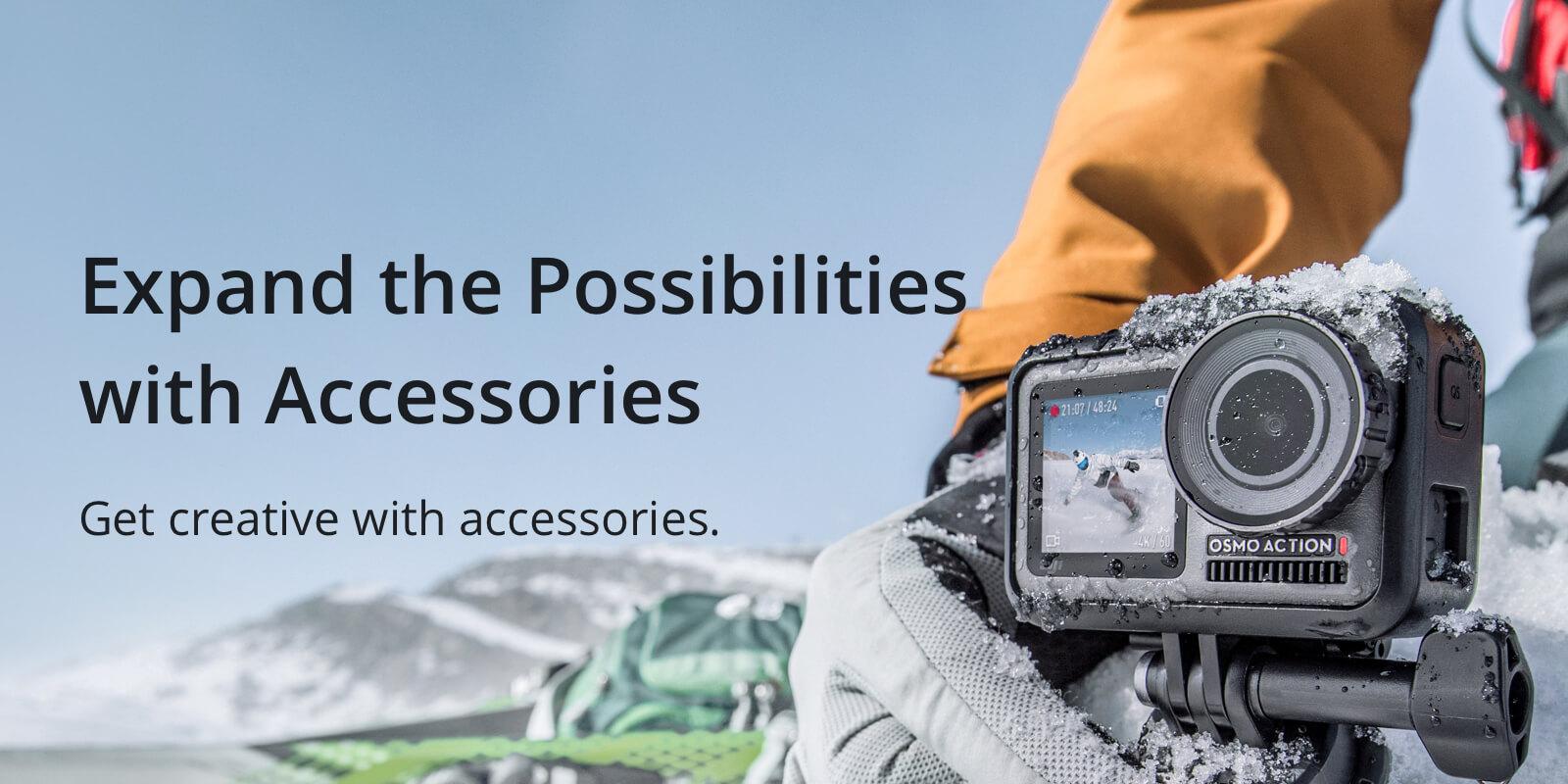 Cd Rek Accessoires.Dji Osmo Action Kamera Promaksa